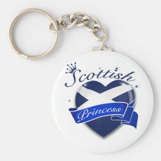 Scottish Princess Keychain