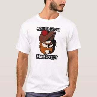 Scottish Proud Clan MacGregor Tartan T-Shirt