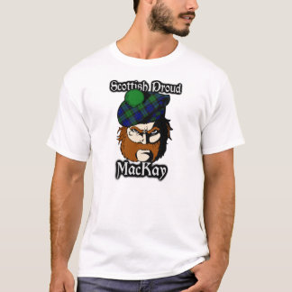 Scottish Proud Clan MacKay Tartan T-Shirt