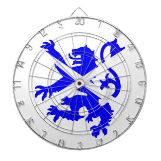 Scottish Rampant Lion Dartboard