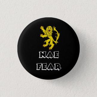 Scottish Rampant Lion Pinback 1 Inch Round Button