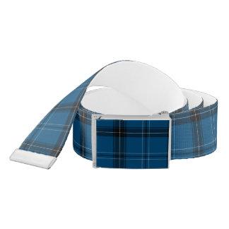 Scottish Ramsay Blue Tartan Belt