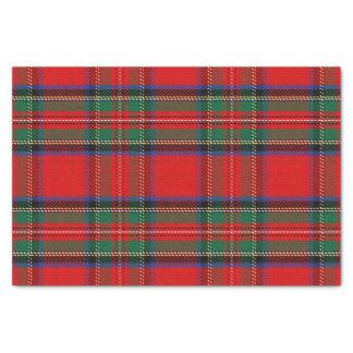 Scottish Red Clan Plaid Tartan Tissue Paper