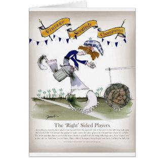 scottish right wing footballer card