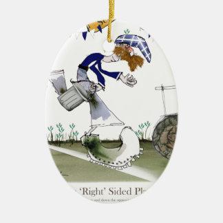 scottish right wing footballer ceramic ornament