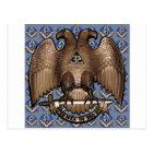 Scottish Rite Square & Compass Postcard