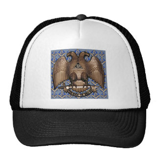 Scottish Rite Square & Compass Trucker Hat