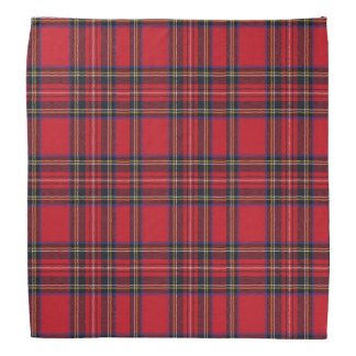 Scottish Royal Stewart Tartan Bandana