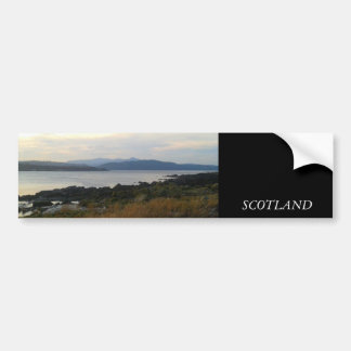 Scottish Scenery Bumper Sticker