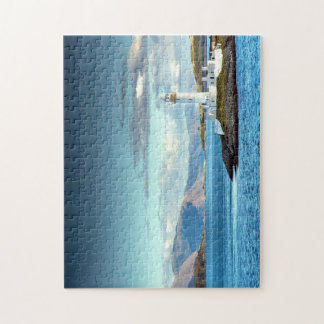 Scottish Scenic Lighthouse View Oban Port Jigsaw Puzzle