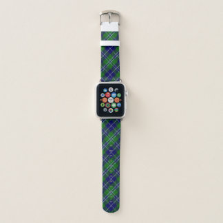 Scottish Style Clan Douglas Tartan Plaid Apple Watch Band