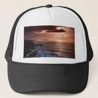 Scottish Sunset, North Coast of Scotland Trucker Hat