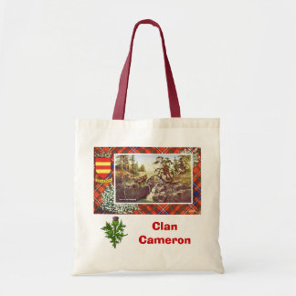 Scottish Tartan, Clan Cameron, Braemar Tote Bag