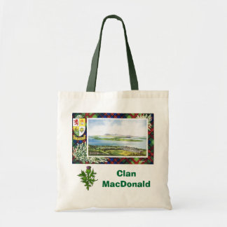 Scottish Tartan, Clan MacDonald, Tote Bag