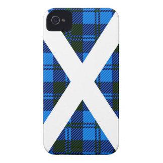 Scottish Tartan Flag iPhone 4 Case