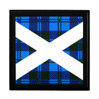Scottish Tartan Flag Trinket Boxes