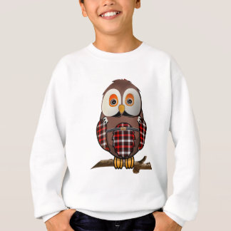 Scottish Tartan Owl T-shirts