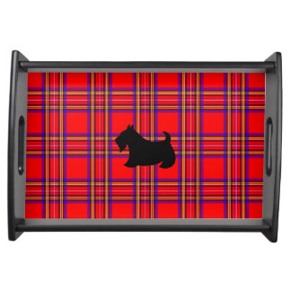 Scottish Terrie Hostess Snack Party Tray Gift