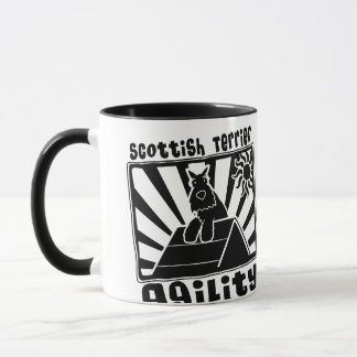 Scottish Terrier Agility A-Frame Mug