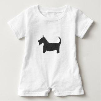 Scottish Terrier Baby Romper
