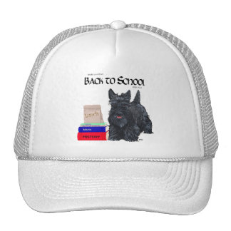Scottish Terrier Back to School Hat
