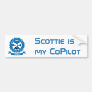 Scottish Terrier Bumper Sticker