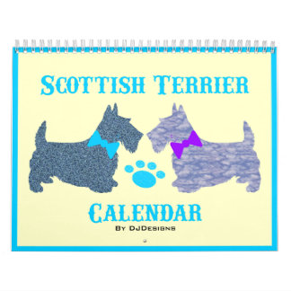 Scottish Terrier Calendar