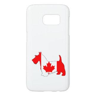 Scottish Terrier Canada Samsung Galaxy S7 Case