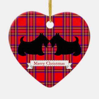 Scottish Terrier Christmas Ornament