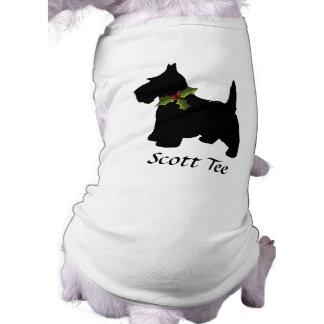 Scottish Terrier Christmas Personalized Shirt