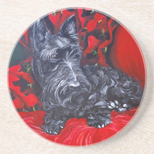 Scottish Terrier Coaster