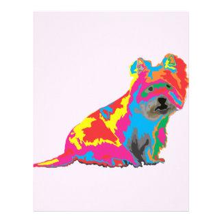 scottish terrier custom letterhead