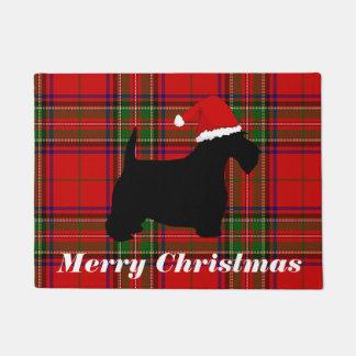 Scottish Terrier Customizable Doormat