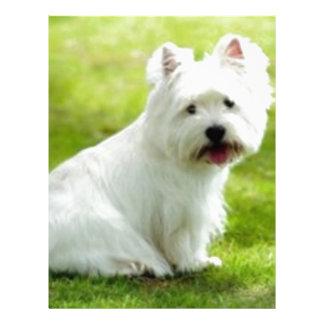scottish terrier customized letterhead