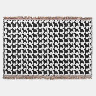 Scottish Terrier Dog Animal Pattern Throw