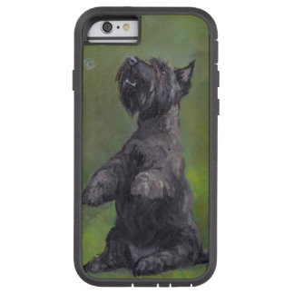 Scottish Terrier Dog Art Phone Case
