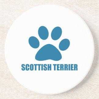 SCOTTISH TERRIER DOG DESIGNS COASTER