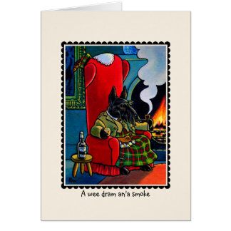 Scottish Terrier Dog Notecard Card