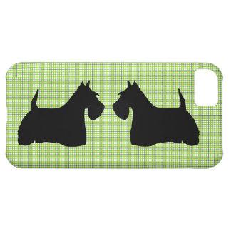 Scottish Terrier dog silhouette iphone 5c case