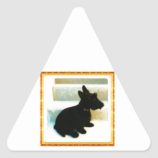 Scottish Terrier Drawing Stickers