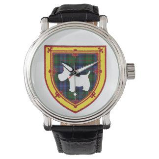 Scottish Terrier Emblem v5 Watch