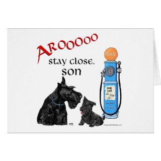 Scottish Terrier Gas Prices !! Card