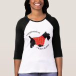 Scottish Terrier in Red Plaid Sweater