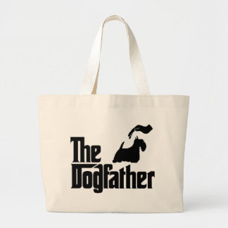 Scottish Terrier Jumbo Tote Bag