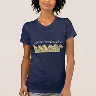 Scottish Terrier Love T-Shirt