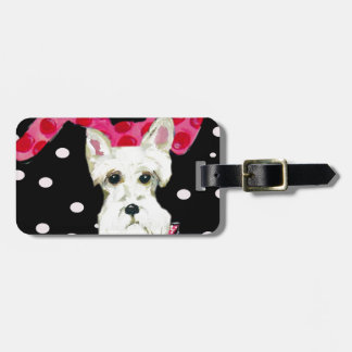 SCOTTISH TERRIER LUGGAGE TAG