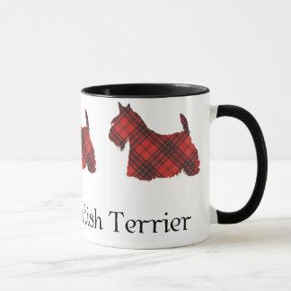 Scottish Terrier Maxwell Tartan Mug