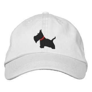 Scottish Terrier Personalized Adjustable Hat Embroidered Baseball Cap