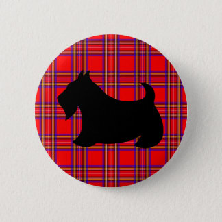Scottish Terrier Pin Button