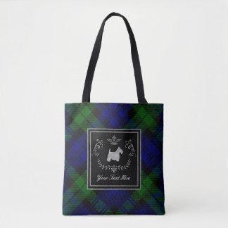 Scottish Terrier Ringside Blackwatch Tote Bag